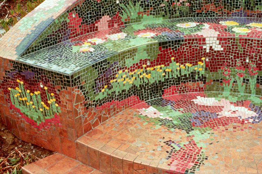 Sensational Exterior Projects Kim Emerson Mosaics Public Art Fine Ibusinesslaw Wood Chair Design Ideas Ibusinesslaworg